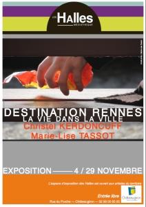 Affiche Exposition Destination Rennes